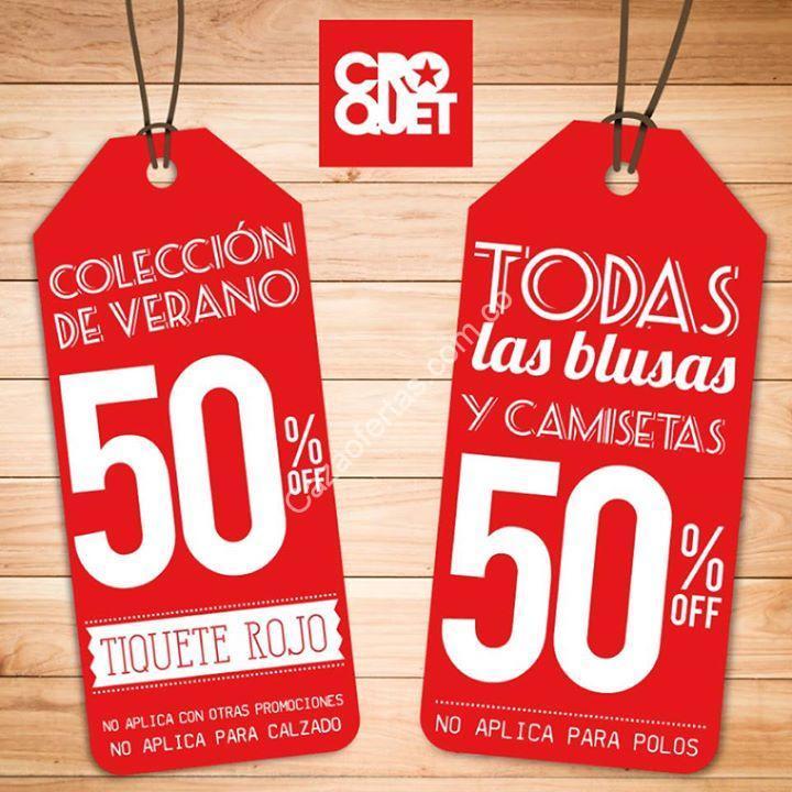 seleccione original tiendas populares disfruta del mejor precio En Croquet 50% de descuento en todas las blusas y camisas de ...