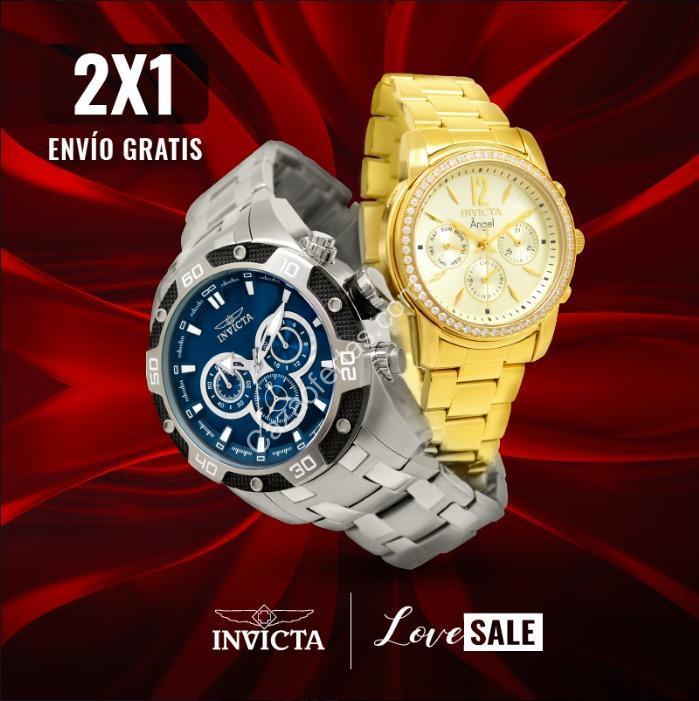 3f74bbe745d3 Promoción Invicta Love Sale  2×1 en relojes seleccionados