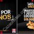 Promoción KFC Martes y Jueves Locos por $19.900