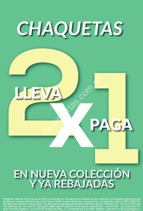 a8e4a685929 Imagen de la promo  Promoción Fuera de Serie de 2x1 en chaquetas  seleccionadas
