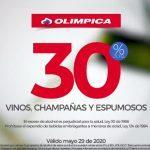 Ofertas Olímpica de fin de semana del 29 al 31 de mayo de 2020