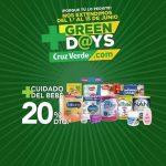 Promoción Cruz Verde Green Days 2020: hasta 25% de descuento en medicamentos, cuidado del bebé y dermocosmética