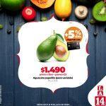 Almacenes la 14 ofertas en frutas y verduras del 5 al 8 de junio 2020