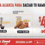 Promo McDonalds iFood de combos desde $4.900 + domicilio gratis