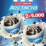 En KFC 2 Avalancha Oreo por $6.000
