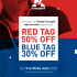 Rebajas Le Coq Sportif Red Tag y Blue Tag: del 30% al 50% de descuento en referencias seleccionadas