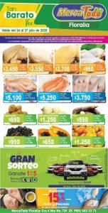 Catálogo Mercamío y Mercatodo ofertas fin de semana del 24 al 27 de julio 2020