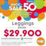 MIC Magic Sale: 50% de descuento en toda la tienda