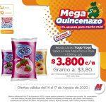 Catálogo Mega Tiendas Mega Quincenazo 14 al 17 de agosto 2020