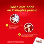 Promo Makro 25 Años: bono de $25.000 Gratis en compras de $200.000