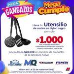 Promo Megatiendas Mega Gangazos 2020: vajillas, utensilios, sartenes, licuadoras y más con tus compras