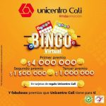 Unicentro Cali Bingo Virtual 2020: Gana hasta $4 millones de pesos