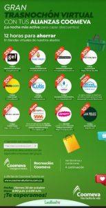 Trasnochón Coomeva 30 de octubre: hasta 30% de descuento en tiendas virtuales