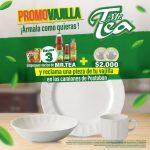 Mr. Tea Promo Vajilla 2020: 3 empaques + $2.000 reclama una pieza de vajilla