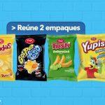 Promoción Yupi: paquete Gratis al reunir 2 empaques y reclamar en tienda
