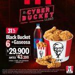 KFC Cyber Monday 2020: 45% de descuento en Bucket + gaseosa