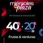 Olímpica Miércoles de Plaza Black Days 25 de noviembre 2020