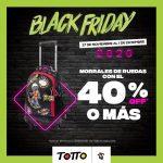 Totto Black Friday 2020: hasta 40% de descuento comprando varios artículos