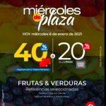 Ofertas Olímpica Miércoles de Plaza 6 de enero 2021