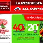 Ofertas Olímpica Miércoles de Plaza 24 de febrero 2021