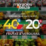 Ofertas Olímpica Miércoles de Plaza 24 de marzo 2021