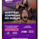 WOM: WhatsApp ilimitado GRATIS por 1 año en tu primer recarga