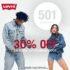 Levis Sale: 30% de descuento en jeans 501