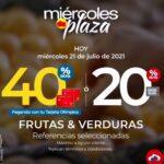 Ofertas Olímpica Miércoles de Plaza 21 de julio 2021