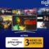 Tigo Hogar: 3 meses Gratis de Amazon Prime Video