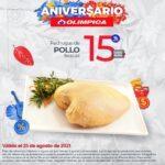 Ofertas Olímpica Miércoles de Plaza Aniversario 25 de agosto 2021