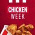 Promociones KFC Chicken Week 23 al 29 de agosto 2021