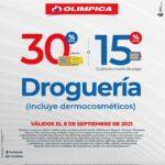 Ofertas Olímpica Miércoles de Plaza 8 de septiembre 2021