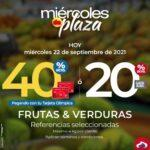 Ofertas Olímpica Miércoles de Plaza 22 de septiembre 2021