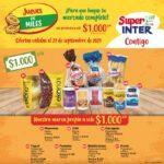 Catálogo Super Inter Jueves de Miles 23 de septiembre 2021
