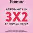 Flormar: 3×2 en toda la tienda