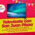 "Sorteo Televísate San Juan Plaza 8º Aniversario: Gana un televisor de 32"""