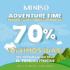 70% de descuento en Adventure Time en tiendas Miniso